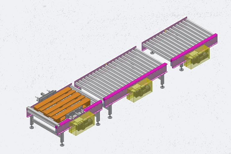 progettazione impianti di movimentazione
